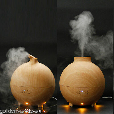 LED Ultrasonic Aroma Diffuser Essential Air Humidifier Purifier Oil Aromatherapy