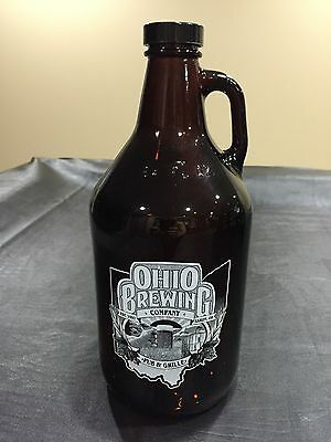 Beer Growler 64oz - Glass - from Ohio Brewing Company