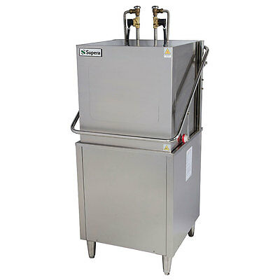 New Commercial Dishwasher -  Hi Temp - Rated 55 Racks / Hour - Door Type