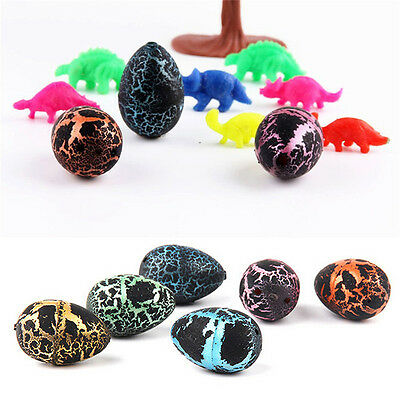 3X Magic Hatching Dinosaur Add Water Growing Dino Eggs Inflatable Child Kid Toys