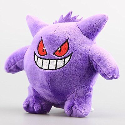 "6.7"" New Pokemon Gengar Soft Plush Toy Doll Kids Dolls Stuffed Gift"