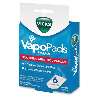 Vicks Waterless Vaporizer Scent Pads 1 each by Vicks