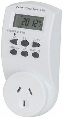 Power Point Timer with Battery Backup & LED screen 24hr Digital