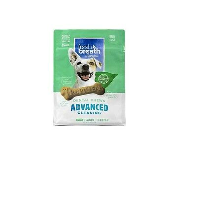 TROPICLEAN Fresh Breath Chews for Dog - Small 20ct Simulate Brushing Unique