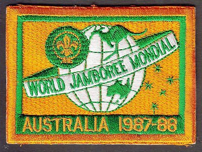 Boy Scouts 16Th World Jamboree Australia 1987 1988 Patch Badge Embroidered