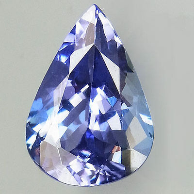 2.76ct.SUPERIOR LUSTER! 100%NATURAL TOP PURPLISH BLUE TANZANITE D BLOCK AAA!