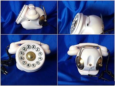 TELEFONO TELEPHONE TELCER BOBO color rosa antico  70S TODESCHINI -RING