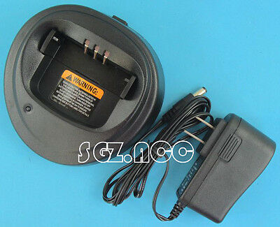 110V Battery Rapid Charger for Motorola CP040 CP150 PR400 EP450 GP3138 US