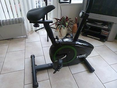 York Fitness Exercise Bike (no shoe straps on pedals)