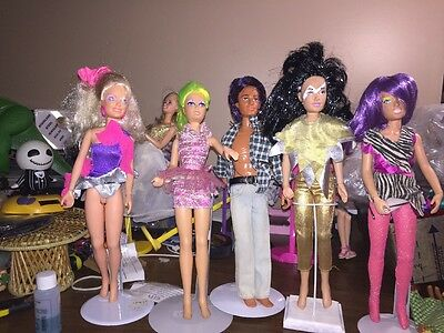 Gem/Jen/jerrica And The Holograms/ Misfits 5 All Vintage Good Condition