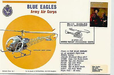 1974 Blue Eagles Army Air Corp Cover Ref 719