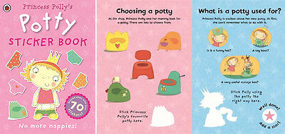 Potty Training Sticker Activity Book Reward Chard 70 Stickers Princess Polly's
