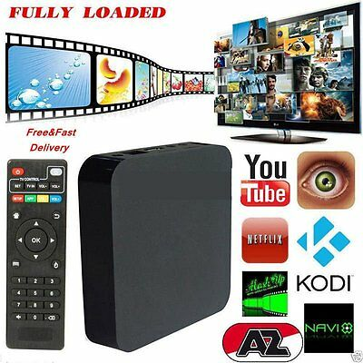 2017 Latest 4K Quad Core Android 5.1 Fully Loaded XBMC WIFI TV Box