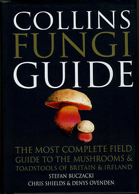 Collins Fungi Guide - Signed
