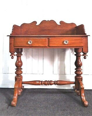 Antique Victorian mahogany washstand / dressing table