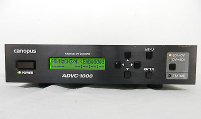 Canopus ADVC-1000 Advanced DV converter with Ac adapter