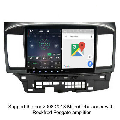 "10.2"" Android 6.0 Octa Core Car Stereo GPS for Mitsubishi Lancer EVO X 2008-2013"