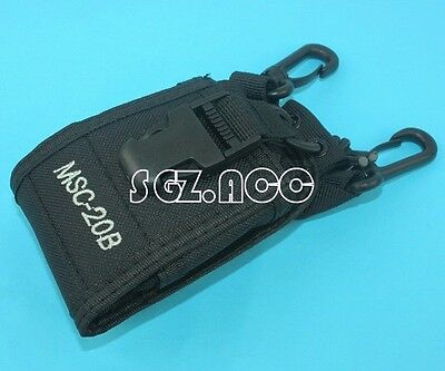 3 in1 Universal Pouch Case Bag For Radio Mobile Phone Walkie Talkie GPS US STOCK