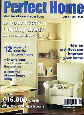 Perfect Home Magazine June 1998 Diy Design