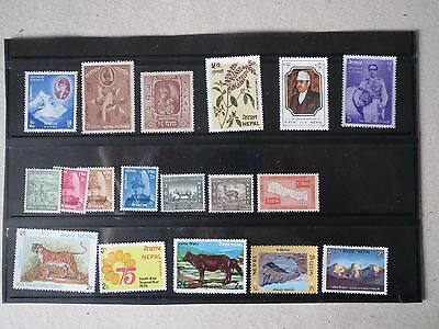 Nepal Mint Stamp Collection