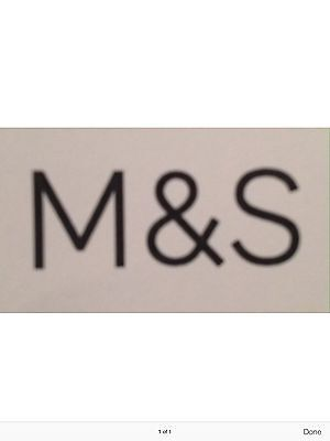 Marks And Spencer Credit Voucher / Note / Gift Voucher - £62.00  M&s