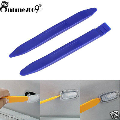 1 Set Tool Open Pry For LED Interior Lights Car Trim Door Panel Removal Install