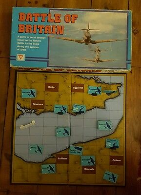 Battle of Britain - Vintage Aerial Strategy Board Game - battle of the skies