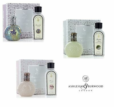 Ashleigh & Burwood Spring Lid Fragrance Lamp Oil Gift Set Home Limited Edition