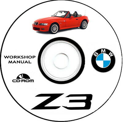 Workshop Manual,Manuale Officina Bmw Z3 Coupe/Roadster e M-Power