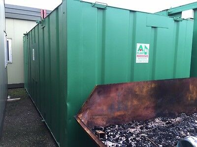 20' x 9' Steel Anti - Vandal Storage/Shipping Container.