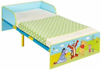 Worlds Apart Winnie The Pooh MDF Toddler Bed, Childrens Bed By HelloHome