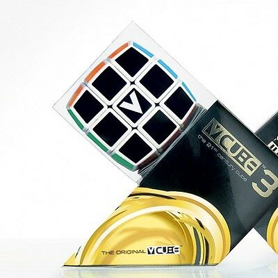 V-Cube 3x3x3 - Patented Speed Cube - Classic Cube Style - Super Smooth Rotation