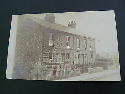 Real Photo RP Postcard with Ipswich postfranking & year of 1905