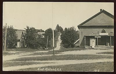 Real Photo Postcard~East Alstead,New Hampshire NH~1910s