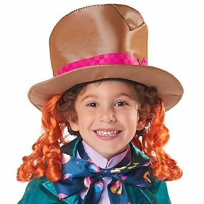MAD HATTER HAT  Alice Through Looking Glass Kids Accessory