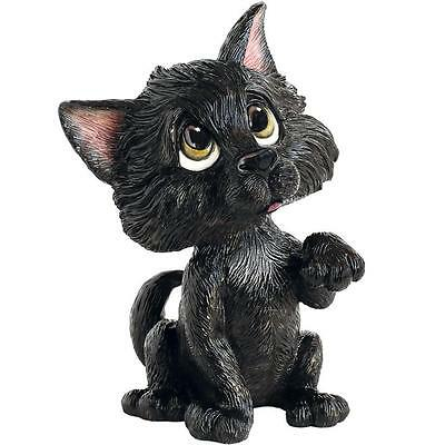 Arora Little Paws Lucky Black Cat Funny Figurine Ornament Animal Lovers Gifts