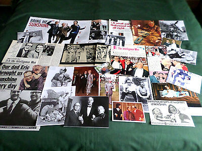 """Morecambe & Wise - Comedy Tv Stars -  """"  Clippings /cuttings Pack """""""