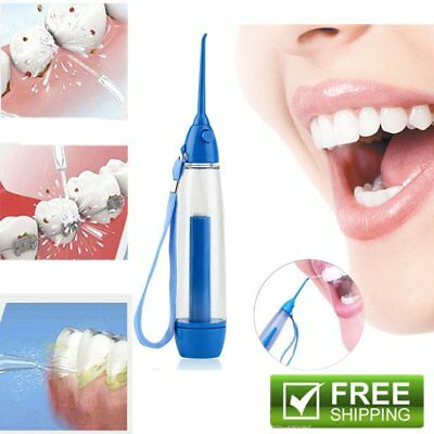 Pro Portable Oral Dental Implement Flosser Tooth Cleaner Water Jet Irrigator AU@