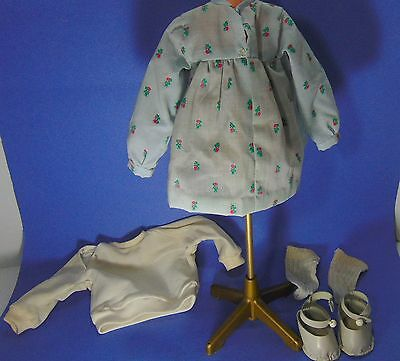 Sasha Doll Clothing Outfit Early Set Tag Dress Shoe Jersey Home Collect Vtg