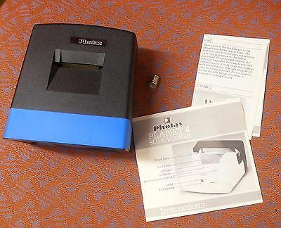 1980s Photax Planet 4 slide viewer boxed with instructions