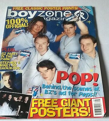 Boyzone  Official Magazine Issue 29