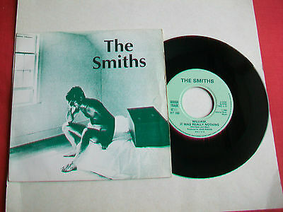 """The Smiths - William, It Was Really Nothing - Uk 7"""" Single - Rt 166 - 1984 - Vg+"""