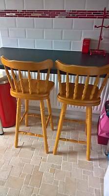 Two Pine Breakfast Bar stools/chairs