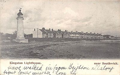 POSTCARD   SUSSEX   KINGSTON   Lighthouse