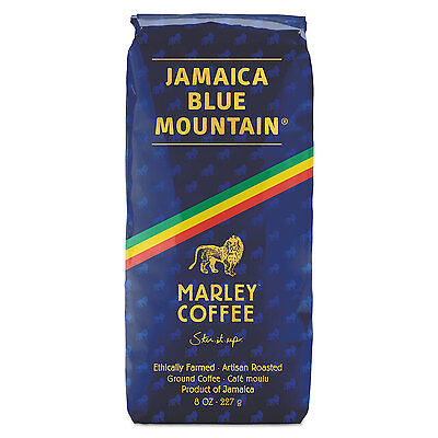 Marley Coffee Coffee Bulk Talkin Blues Jamaica Blue Mountain 8 oz Bag 02561