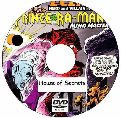 House of Secrets Classic Comic Collection 154 Issues on DVD from 1956 - 1978