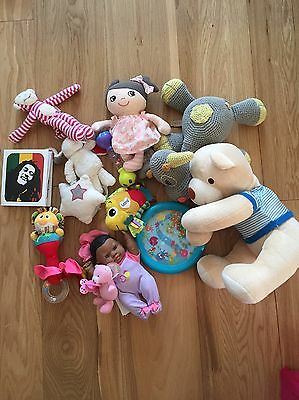 Toy Bundle Buggy Toys And Plush Toys