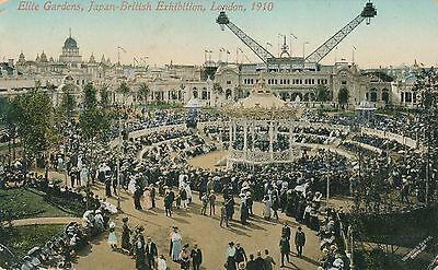 POSTCARD  EXHIBITIONS   Japan  British London 1910  Elite Gardens