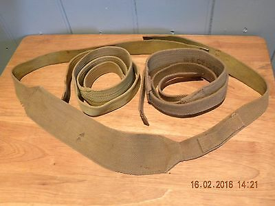 37 pattern webbing straps some WW2 dated