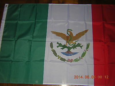 100% NEW reproduced flag Mexican Ensign Mexico 1893-1916, 3ftX5ft